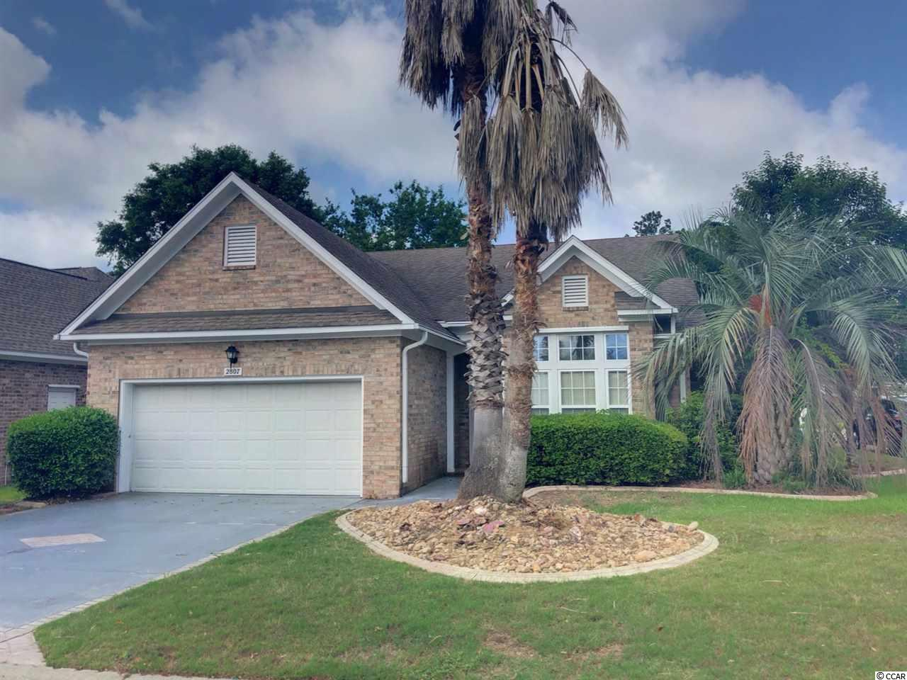 Detached MLS:1809508   2807 S Key Largo Circle Myrtle Beach SC