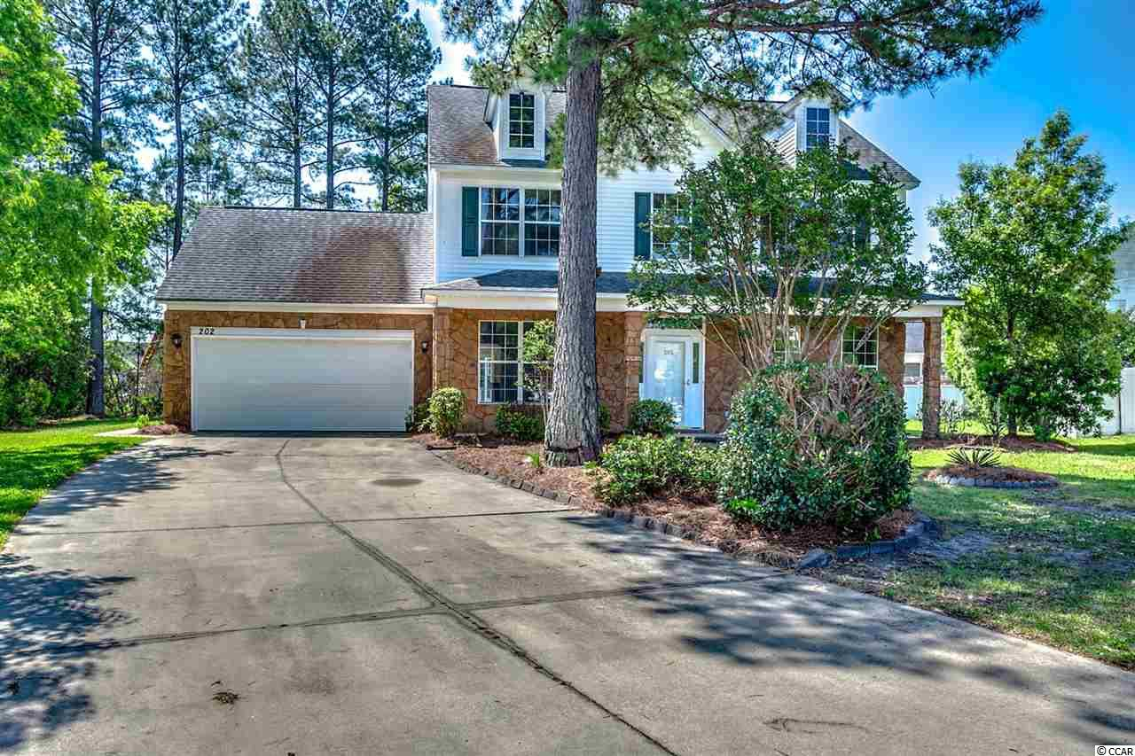 Detached MLS:1810260   202 Alyssum Ct. Myrtle Beach SC