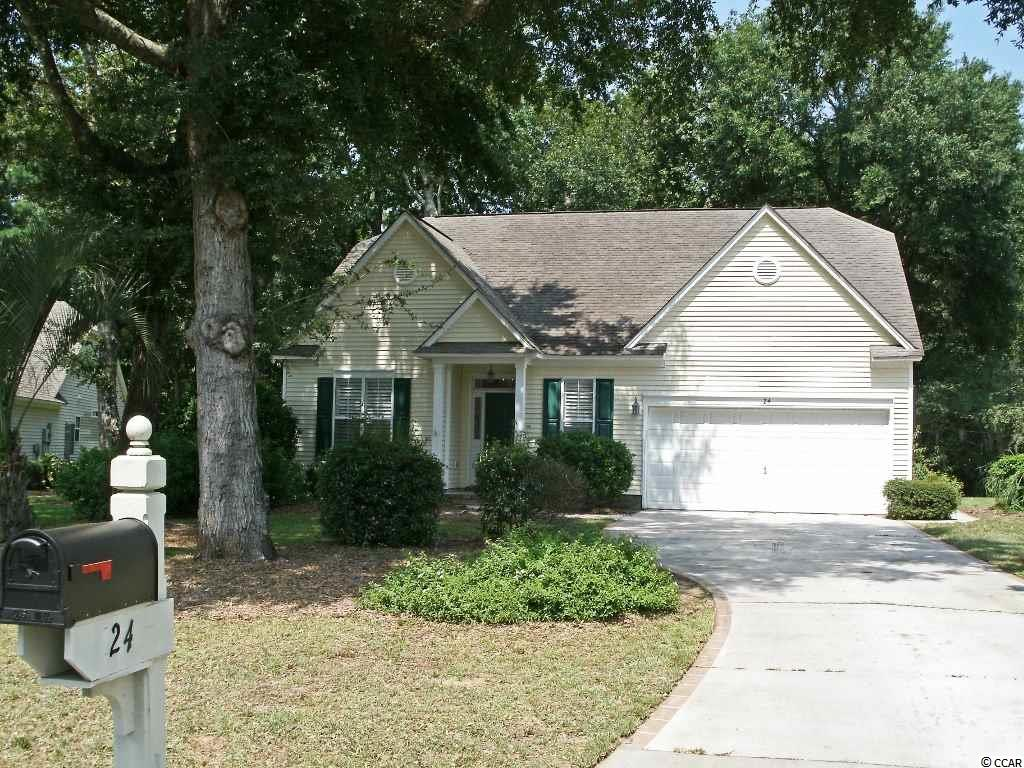 Detached MLS:1810319   24 Pierpont Ct. Pawleys Island SC