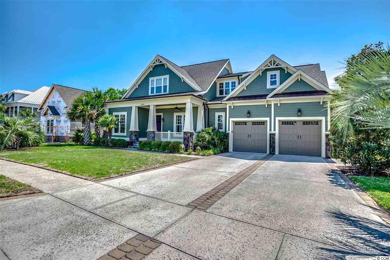 Detached MLS:1810809   1105 Marsh Pointe Pl. North Myrtle Beach SC