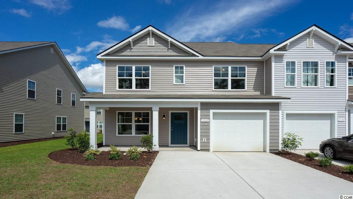 Townhouse MLS:1810950 Fairways at Wild Wing  1129 Fairway Ln. Conway SC
