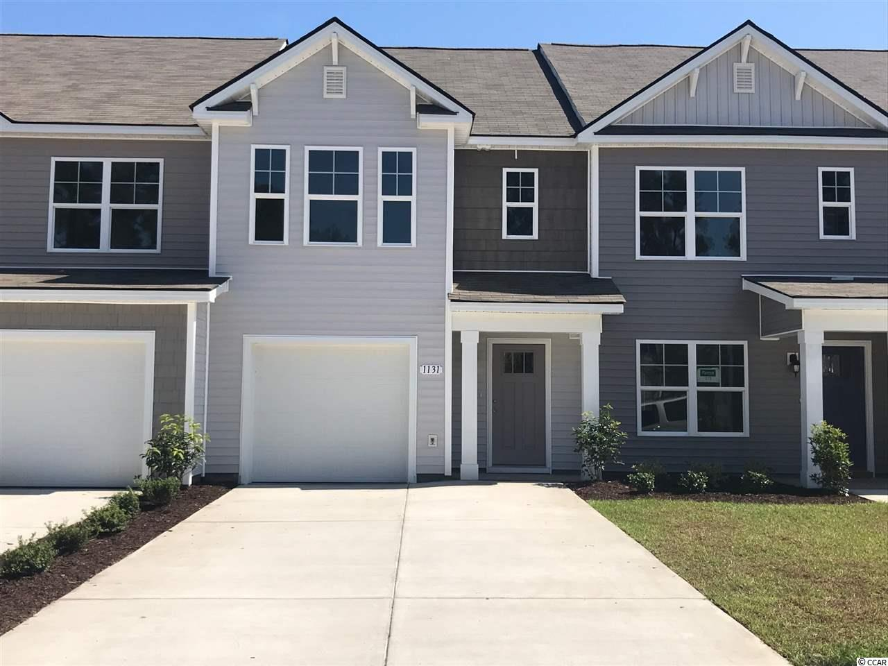 Townhouse MLS:1810952 Fairways at Wild Wing  1131 Fairway Ln. Conway SC