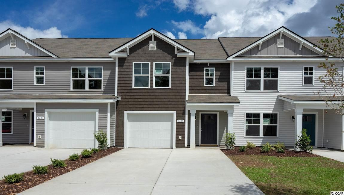 Townhouse MLS:1810955 Fairways at Wild Wing  1135 Fairway Ln. Conway SC