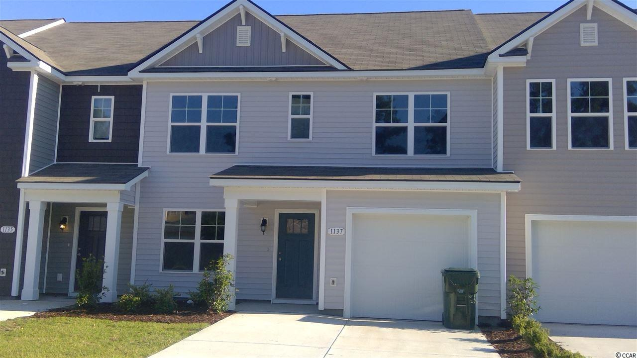 Townhouse MLS:1810956 Fairways at Wild Wing  1137 Fairway Ln. Conway SC