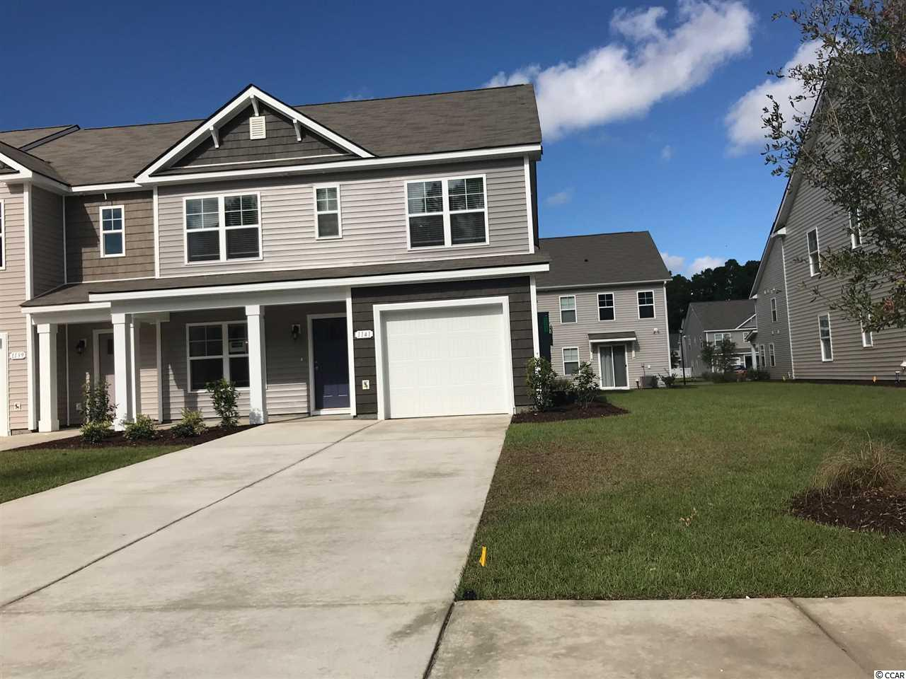 Townhouse MLS:1810958 Fairways at Wild Wing  1141 Fairway Ln. Conway SC