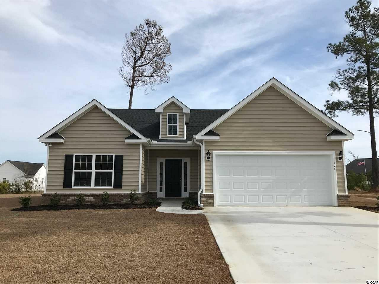 Detached MLS:1811718   123 Silver Peak Dr. Conway SC
