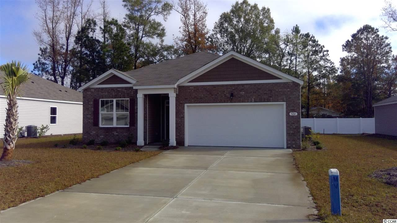 Detached MLS:1811737   524 Affinity Dr. Myrtle Beach SC
