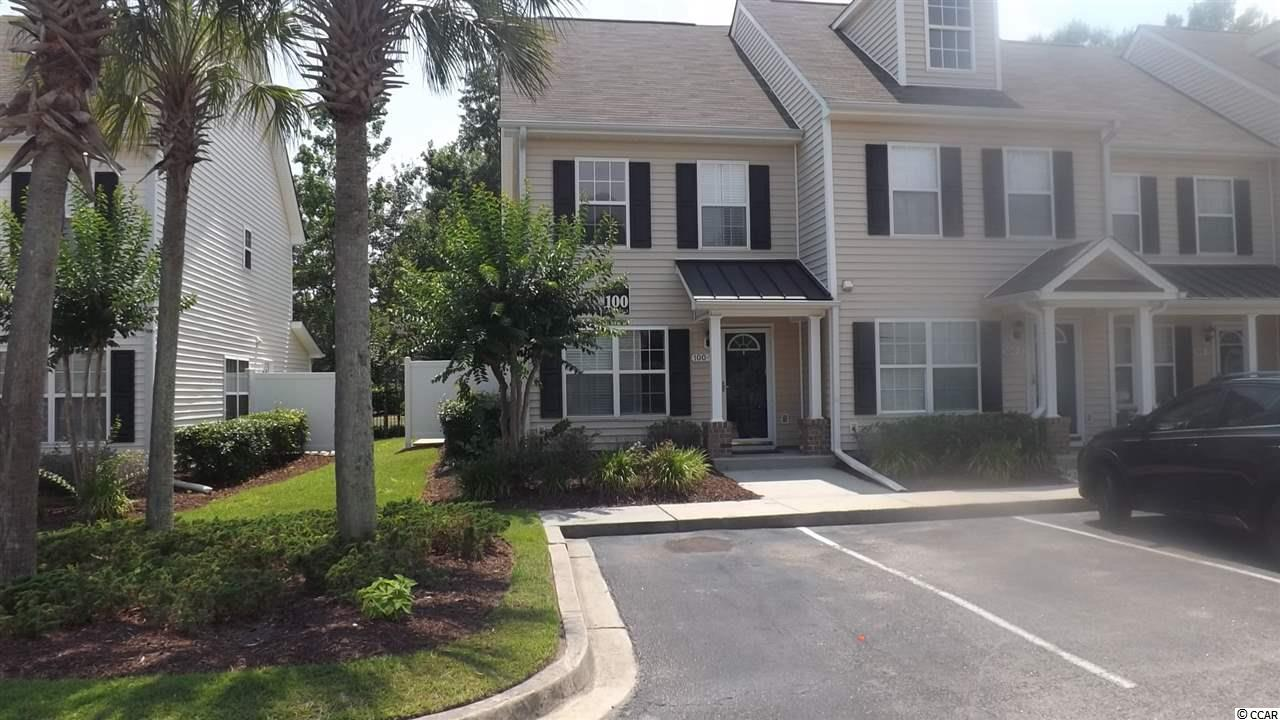 Townhouse MLS:1812564 MERRITT PARK  100 Barnacle Ln. Little River SC