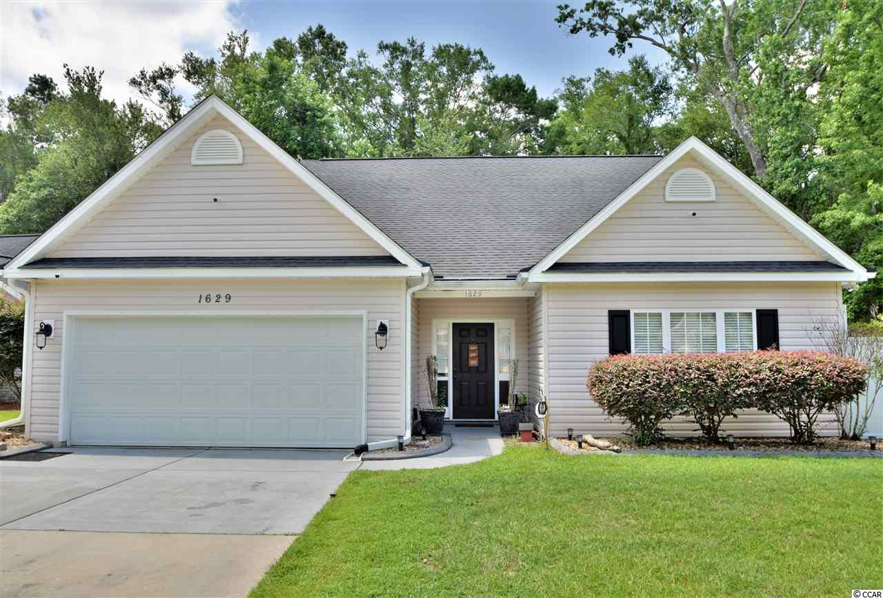 Detached MLS:1812748   1629 Pheasant Pointe Court Myrtle Beach SC