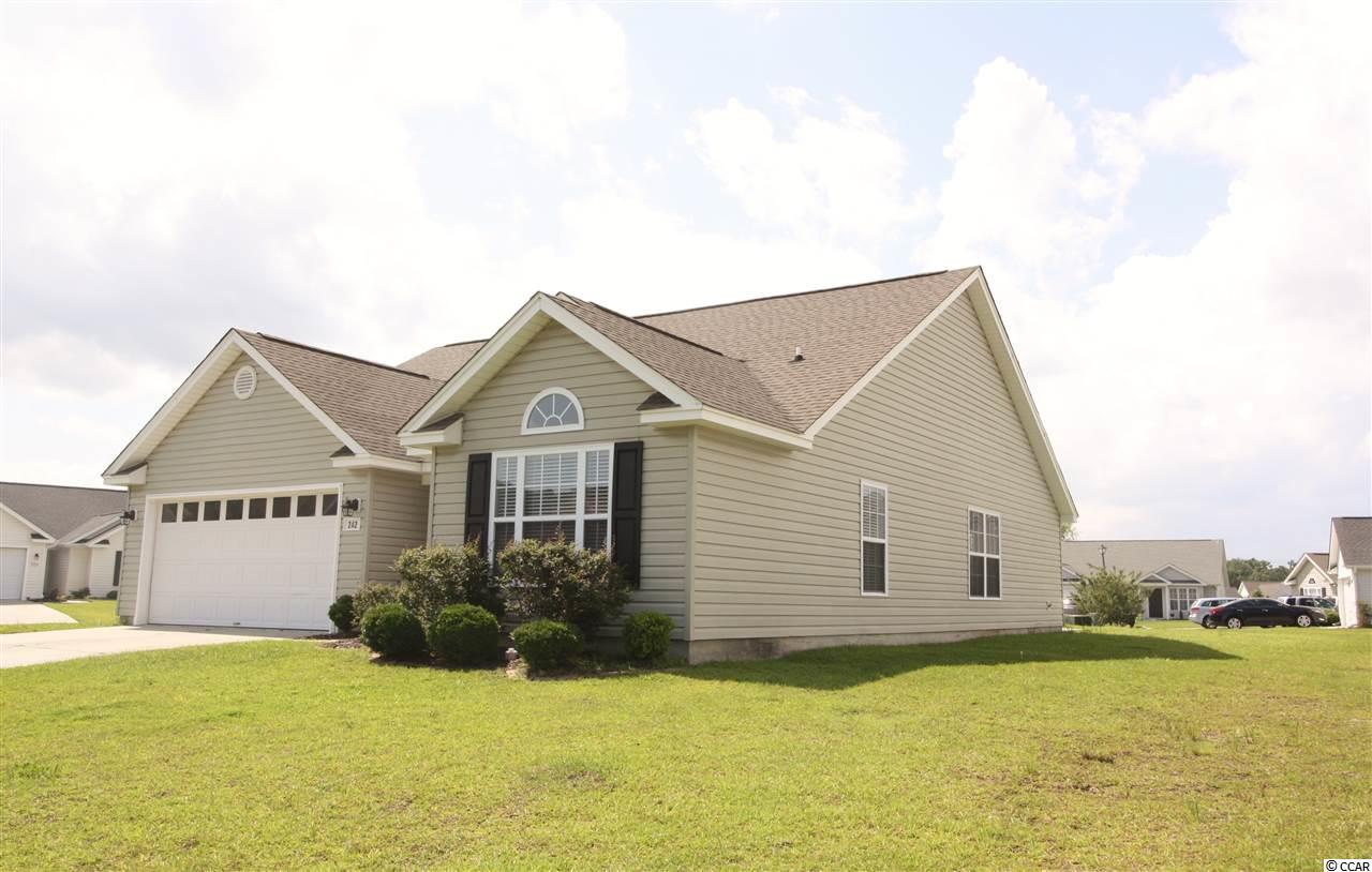 Detached MLS:1812924   242 Bonnie Bridge Circle Myrtle Beach SC