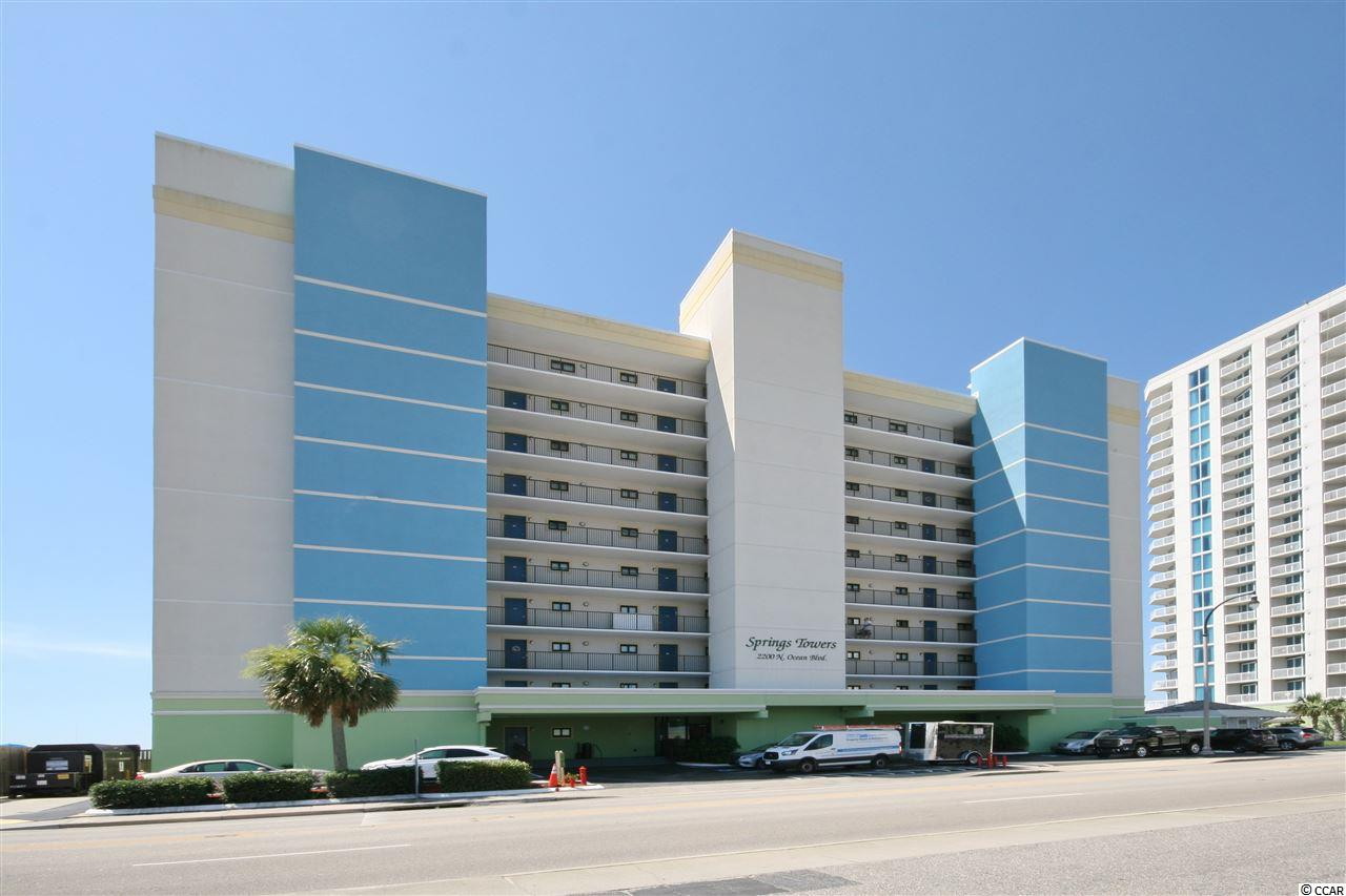 Condo MLS:1812938 SPRINGS TOWER  2200 N Ocean Blvd. #302 North Myrtle Beach SC