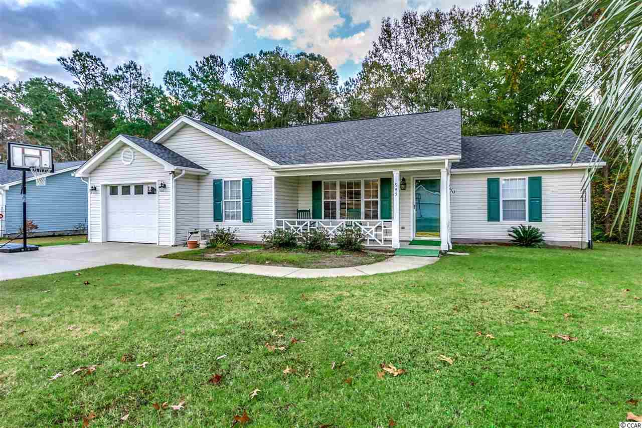 Detached MLS:1812982   945 Castlewood Dr. Conway SC