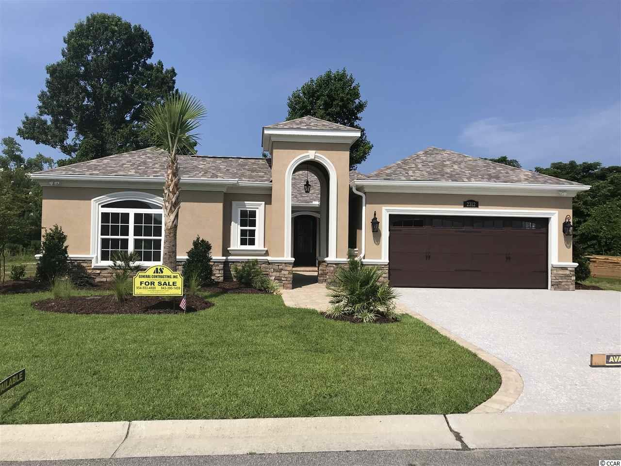 Detached MLS:1813276   2312 Via Palma Drive North Myrtle Beach SC