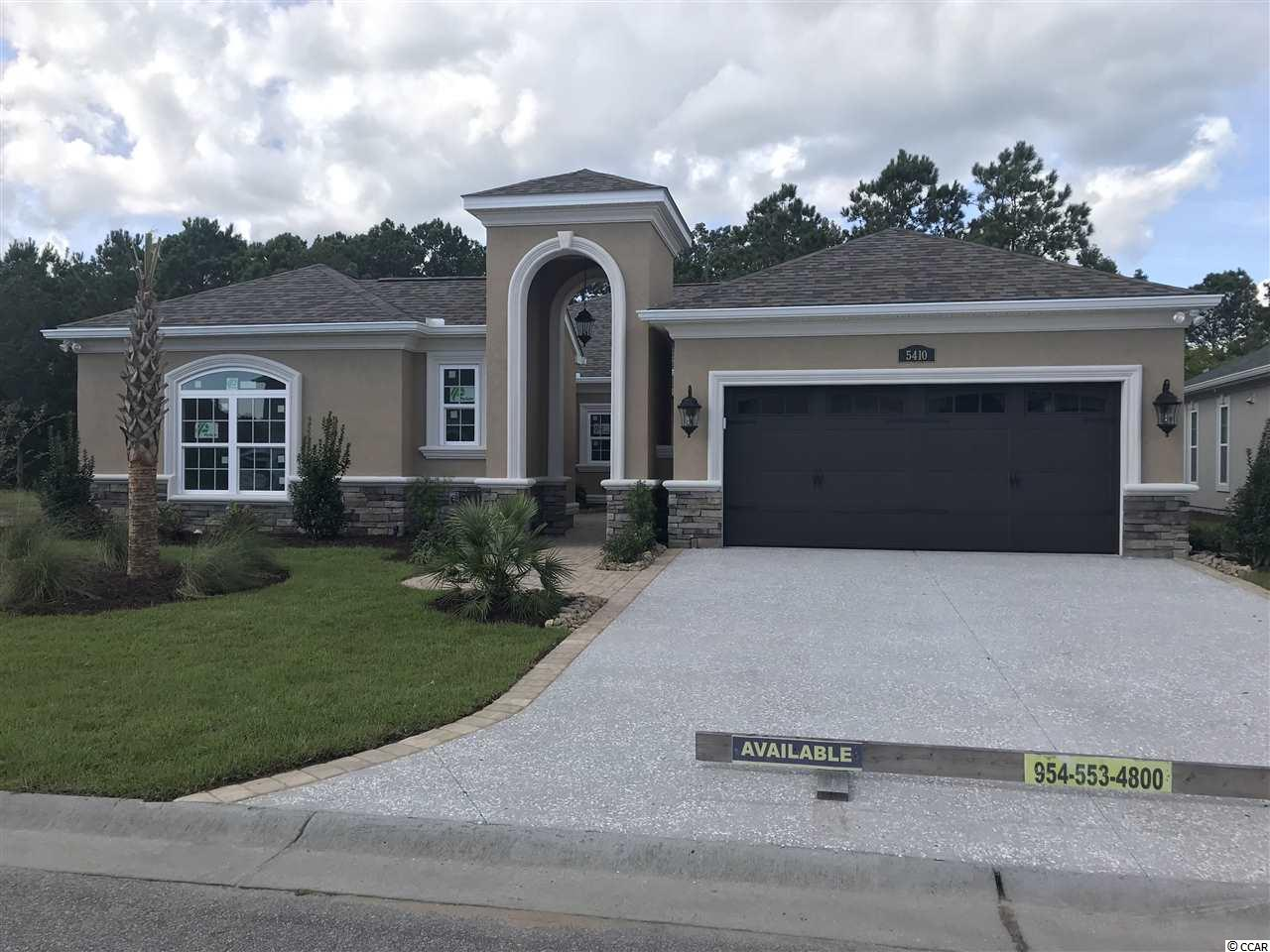Detached MLS:1813738   5410 Via Verde Drive North Myrtle Beach SC