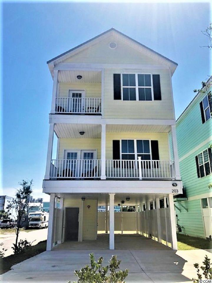 Detached with HPR MLS:1814068   203 26th Ave. S Myrtle Beach SC