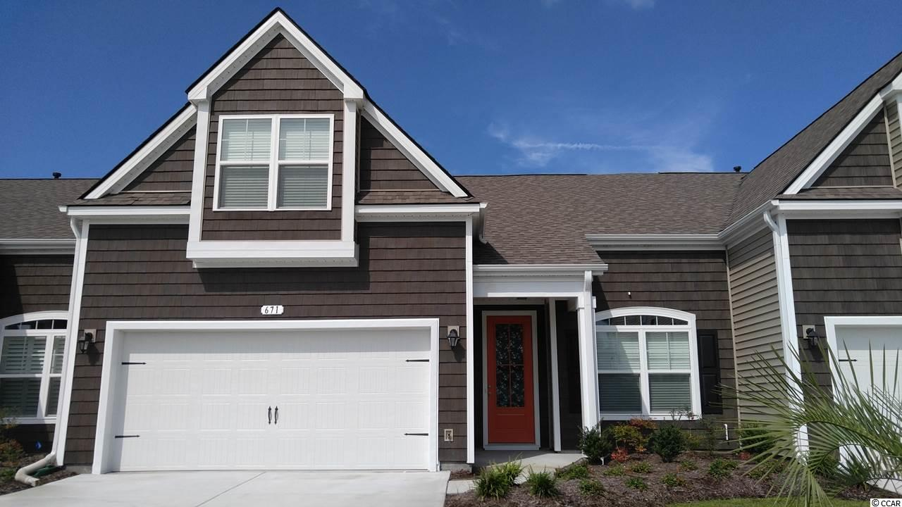 Townhouse MLS:1814209 Tuscany - Carolina Forest Area -  671 Pistoia Ln. Myrtle Beach SC