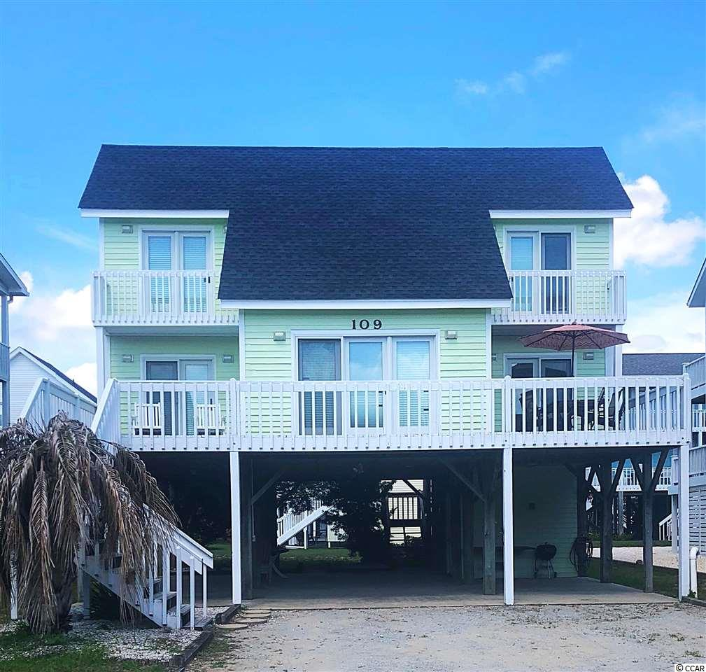 Detached MLS:1814227   109 Clippership Dr. Holden Beach NC