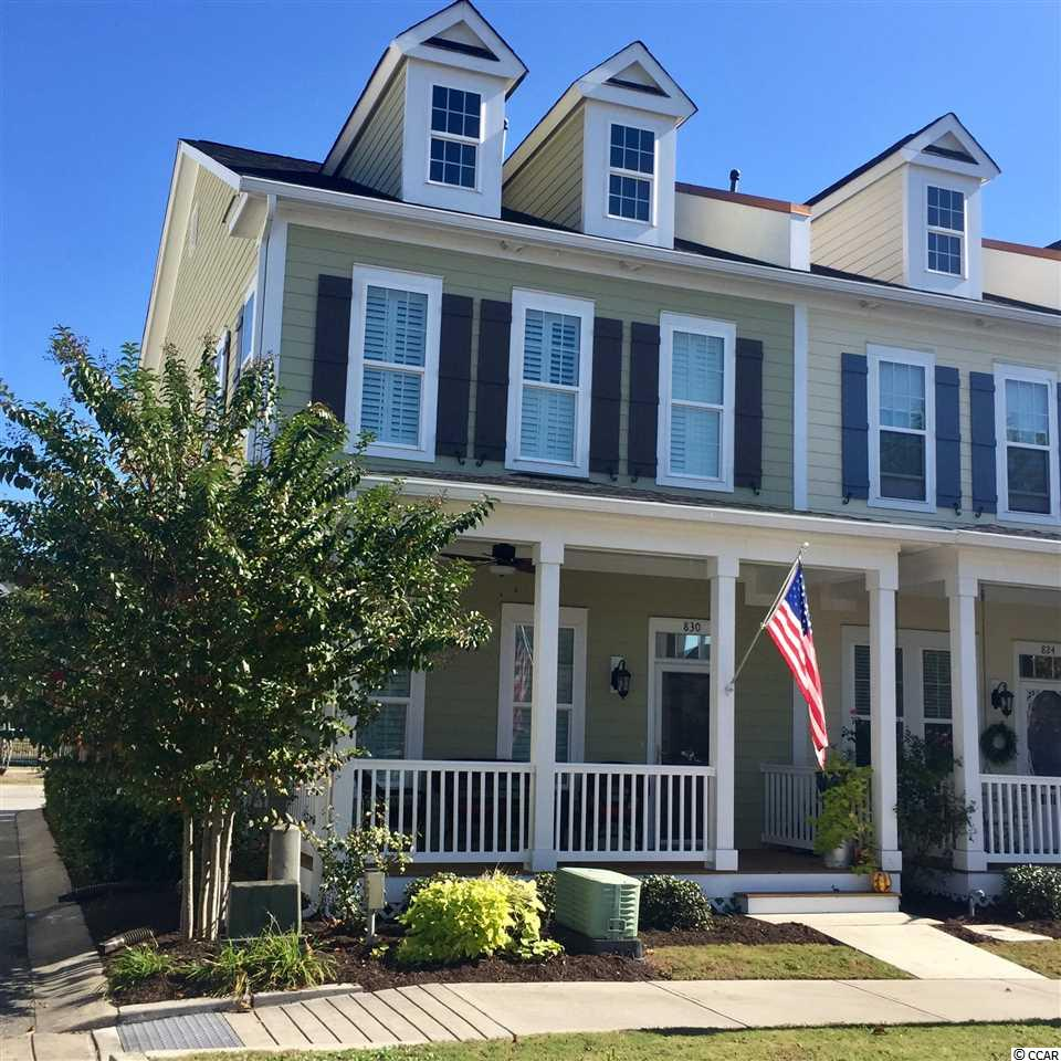 Townhouse MLS:1814316 Market Common, The  830 Shine Ave. Myrtle Beach SC