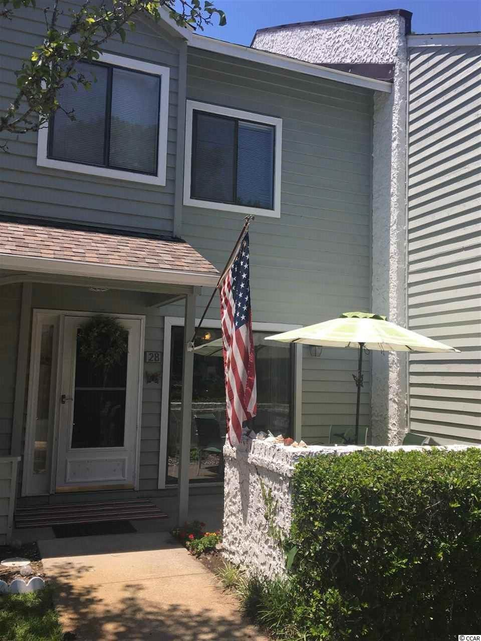 Townhouse MLS:1814517 SHADOW MOSS  28 SHADOW MOSS PLACE North Myrtle Beach SC