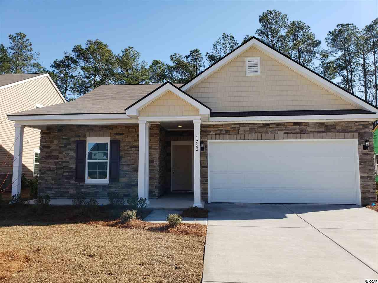 Detached MLS:1815700   1752 Clove Estates Circle Myrtle Beach SC