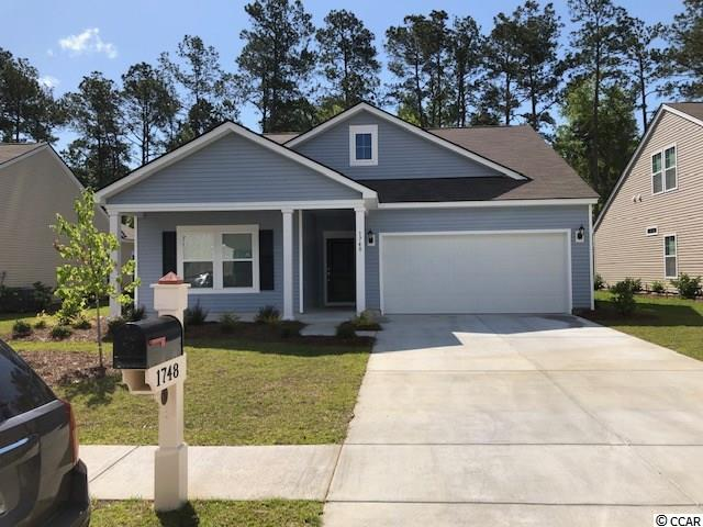 Detached MLS:1815707   1748 Clove Estates Circle Myrtle Beach SC
