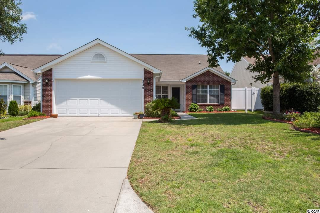 Detached MLS:1815951   232 Bittersweet Lane Myrtle Beach SC