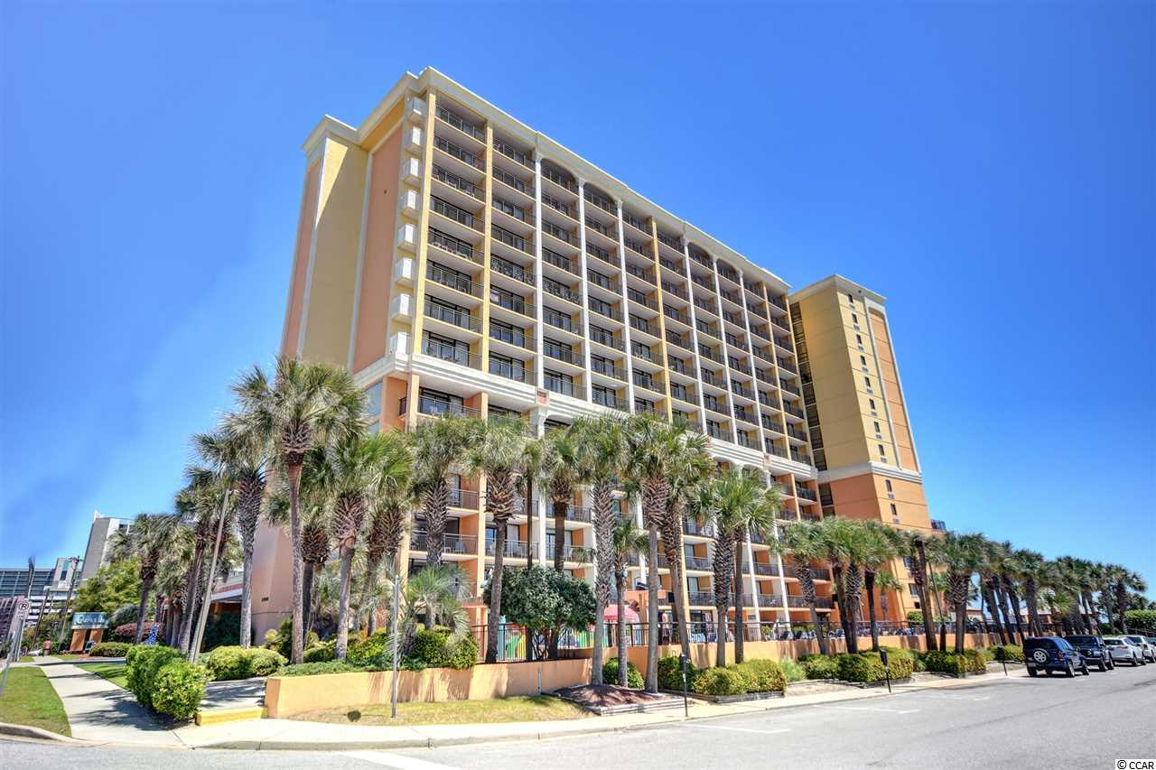 Ocean View,End Unit Condo in Caravelle Resort : Myrtle Beach South Carolina