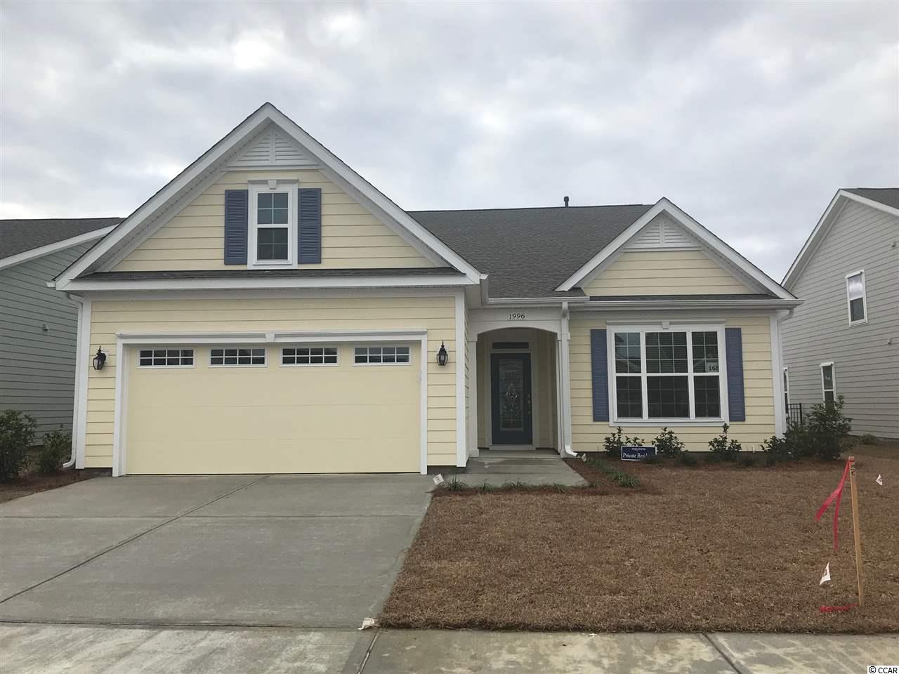 Detached MLS:1816547   1996 Cresswind Blvd. Myrtle Beach SC