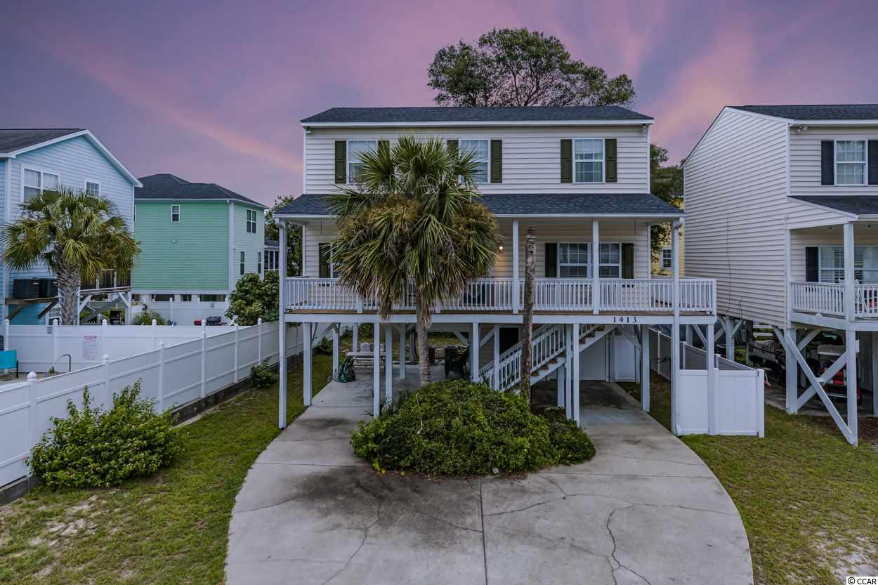 Detached MLS:1817683   1413 S Dogwood Dr. Surfside Beach SC