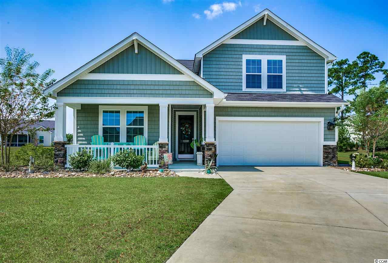 Detached MLS:1818069   1209 Silverstone Ct. Conway SC