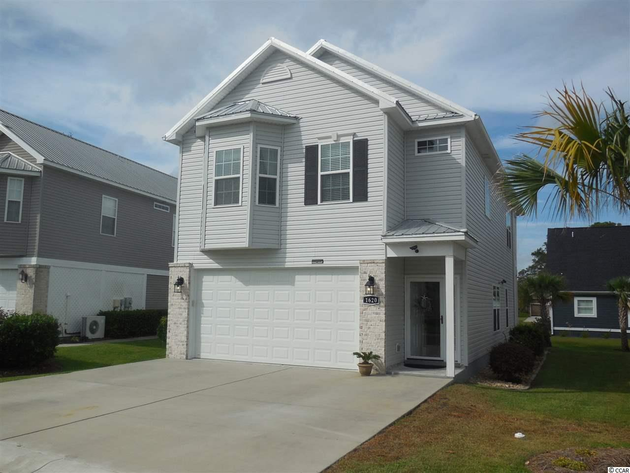 Detached with HPR MLS:1818620   1620 Cottage Cove Circle North Myrtle Beach SC