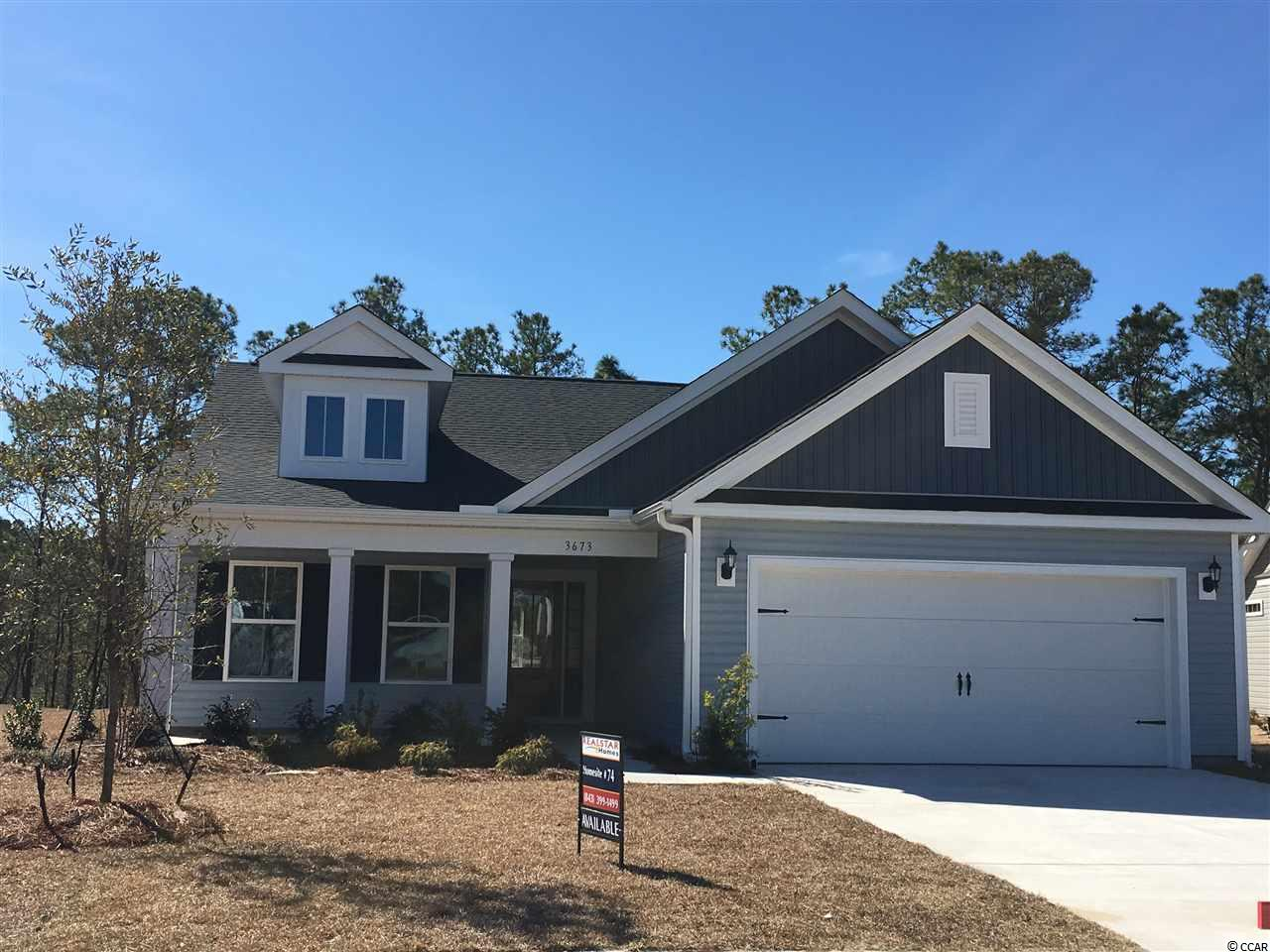 Detached MLS:1818776   3673 Park Pointe Ave. Little River SC