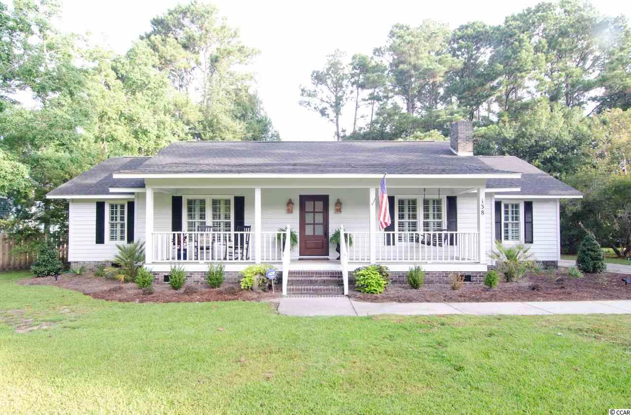 Detached MLS:1818821   138 Shipmaster Avenue Pawleys Island SC