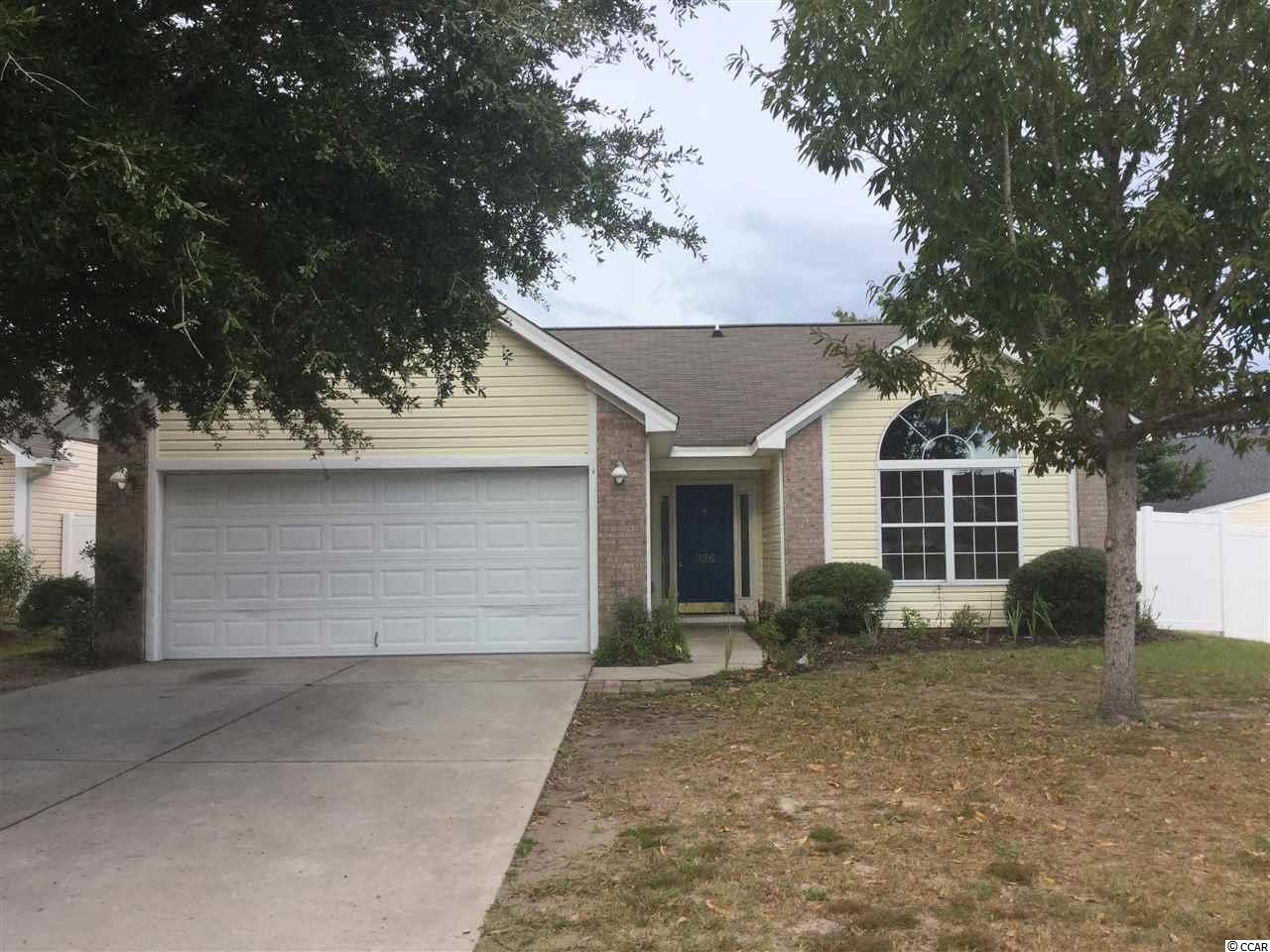 Detached MLS:1818871   326 Thistle Lane Myrtle Beach SC
