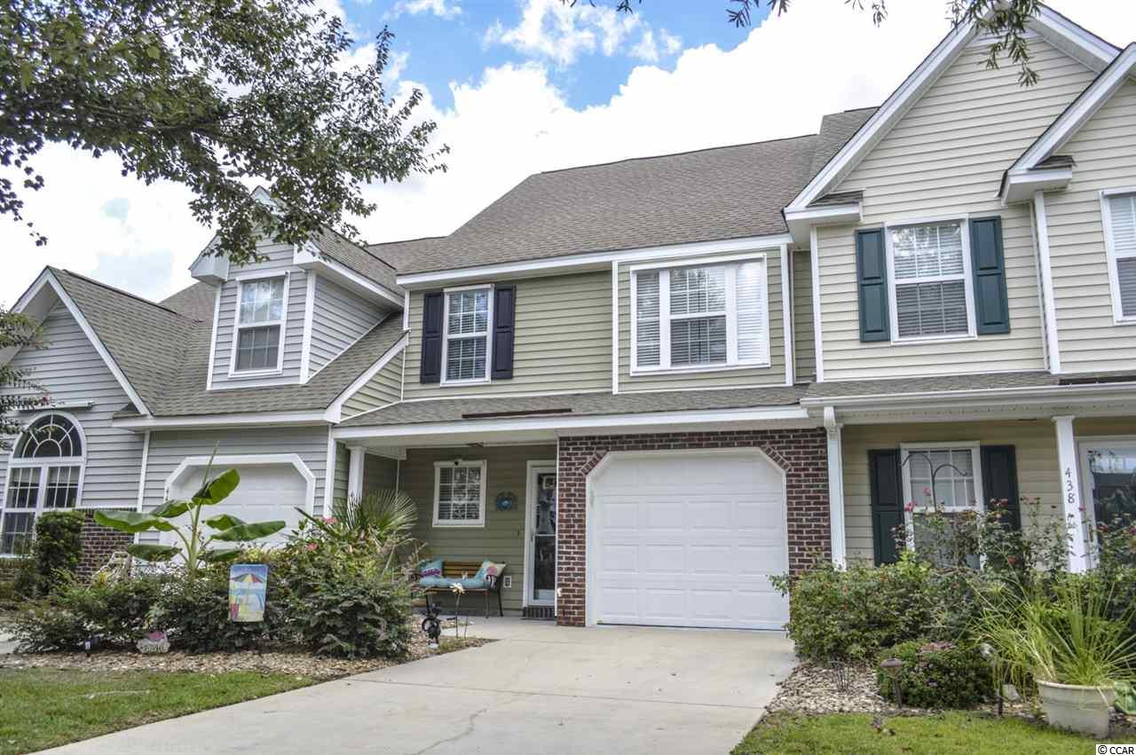 Townhouse MLS:1818872 Sawgrass East - Carolina Forest  442 Swanson Drive Myrtle Beach SC