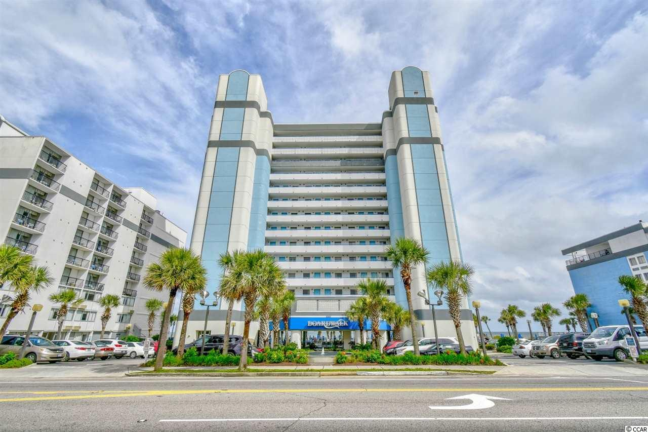Ocean Front Condo in Boardwalk Oceanfront Tower : Myrtle Beach South Carolina