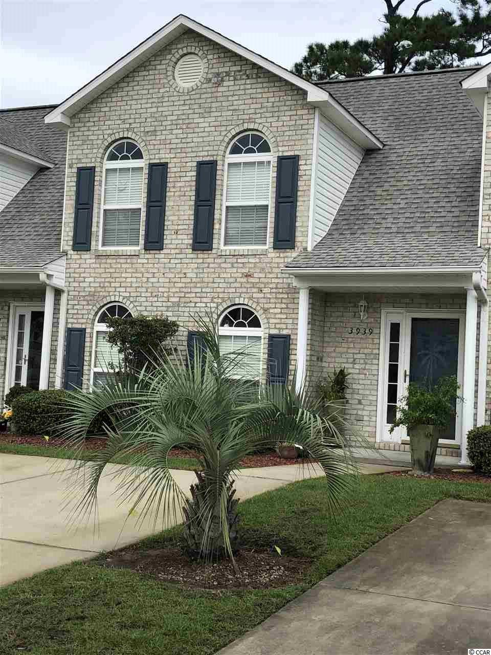 Townhouse MLS:1819858 TYBRE DOWNS  3939 Tybre Downs Circle Little River SC