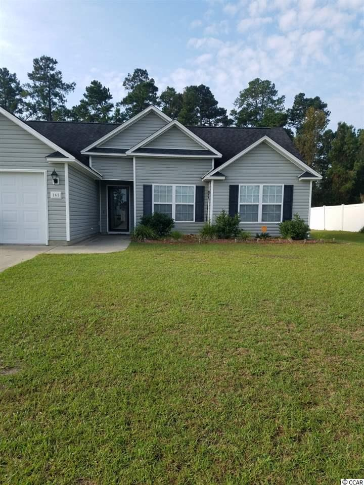 Detached MLS:1820322   265 Cottage Creek Circle Conway SC