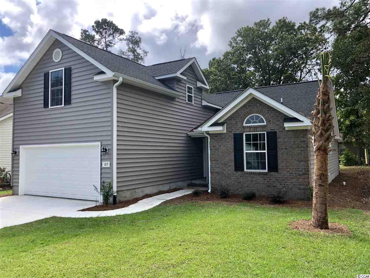 Detached MLS:1820417   615 Sparrow Dr. Surfside Beach SC