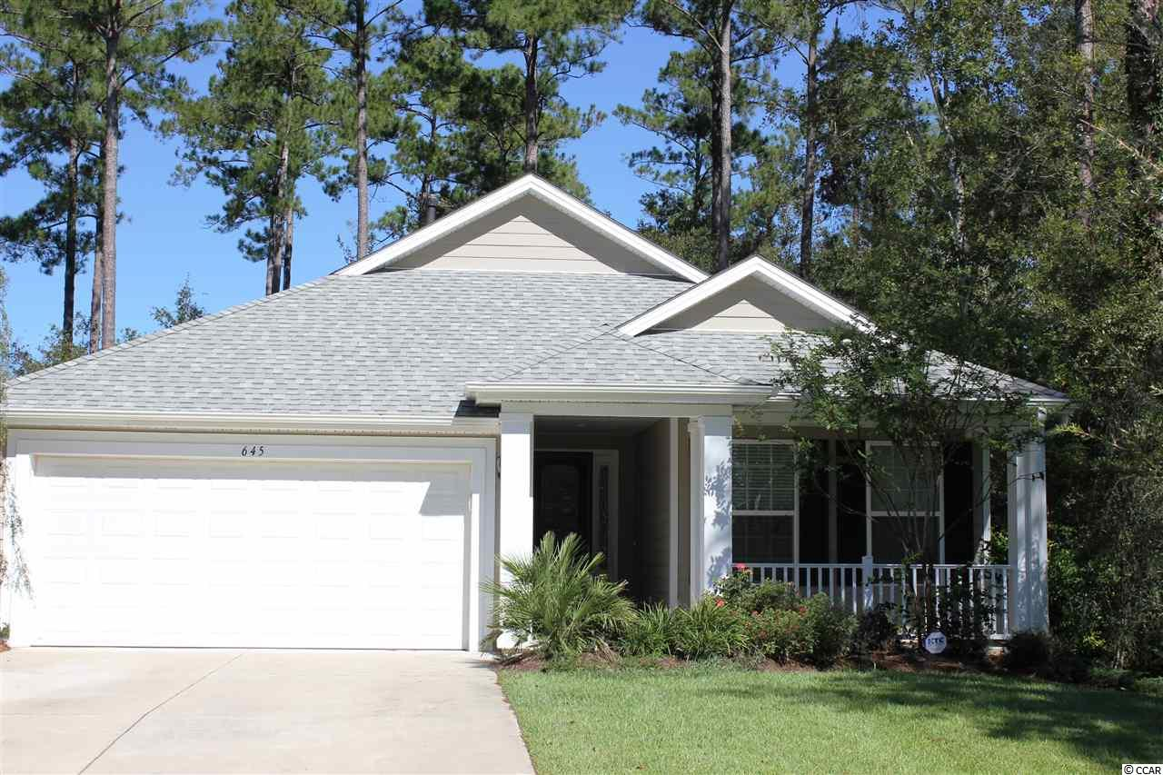 Detached MLS:1821096   645 Grand Cypress Way Murrells Inlet SC