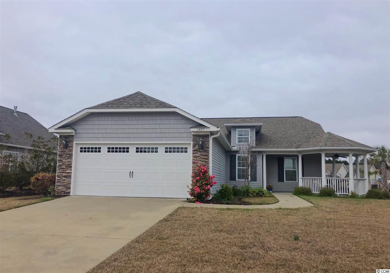 Detached MLS:1821372   1407 Holtzman St. Surfside Beach SC