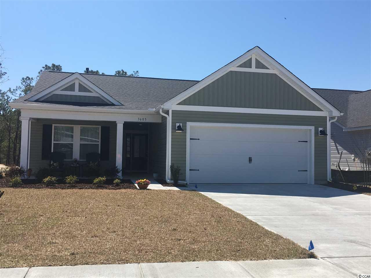 Detached MLS:1821522   3685 Park Pointe Ave. Little River SC