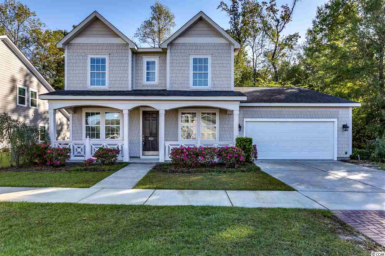 Detached MLS:1821686   1152 Yorkshire Pkwy. Myrtle Beach SC