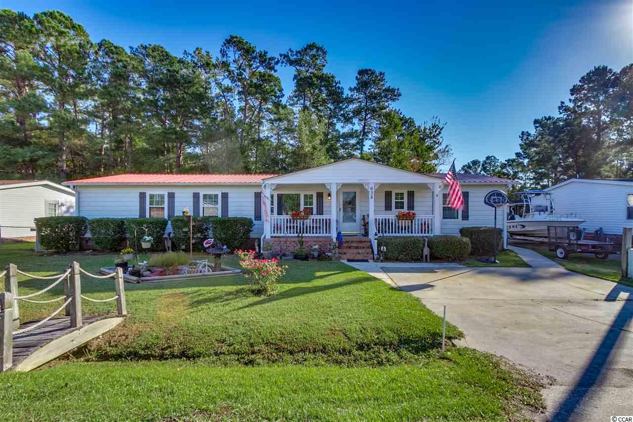 Manufactured with Land MLS:1821811   638 River Bend Rd. Myrtle Beach SC