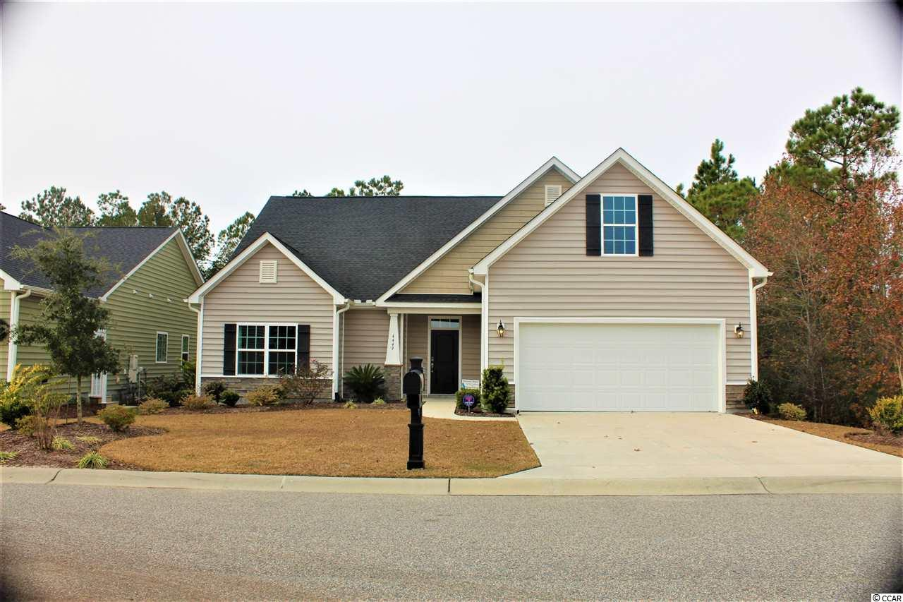 Detached MLS:1824839   4449 Marshwood Dr. Myrtle Beach SC
