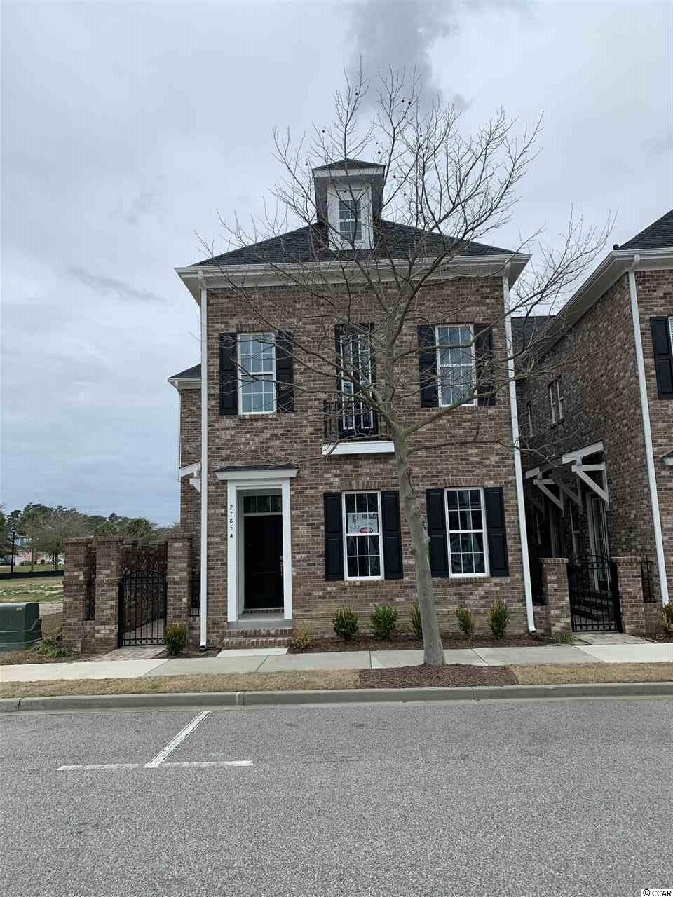 Townhouse MLS:1900665 Market Common, The  2785 Unit A Howard Ave. Myrtle Beach SC