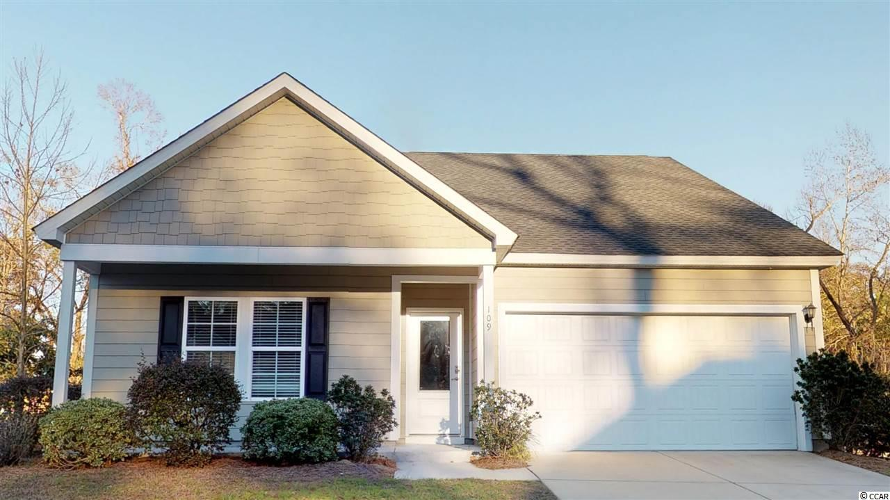 Detached MLS:1900797   109 Kenzgar Dr. Myrtle Beach SC