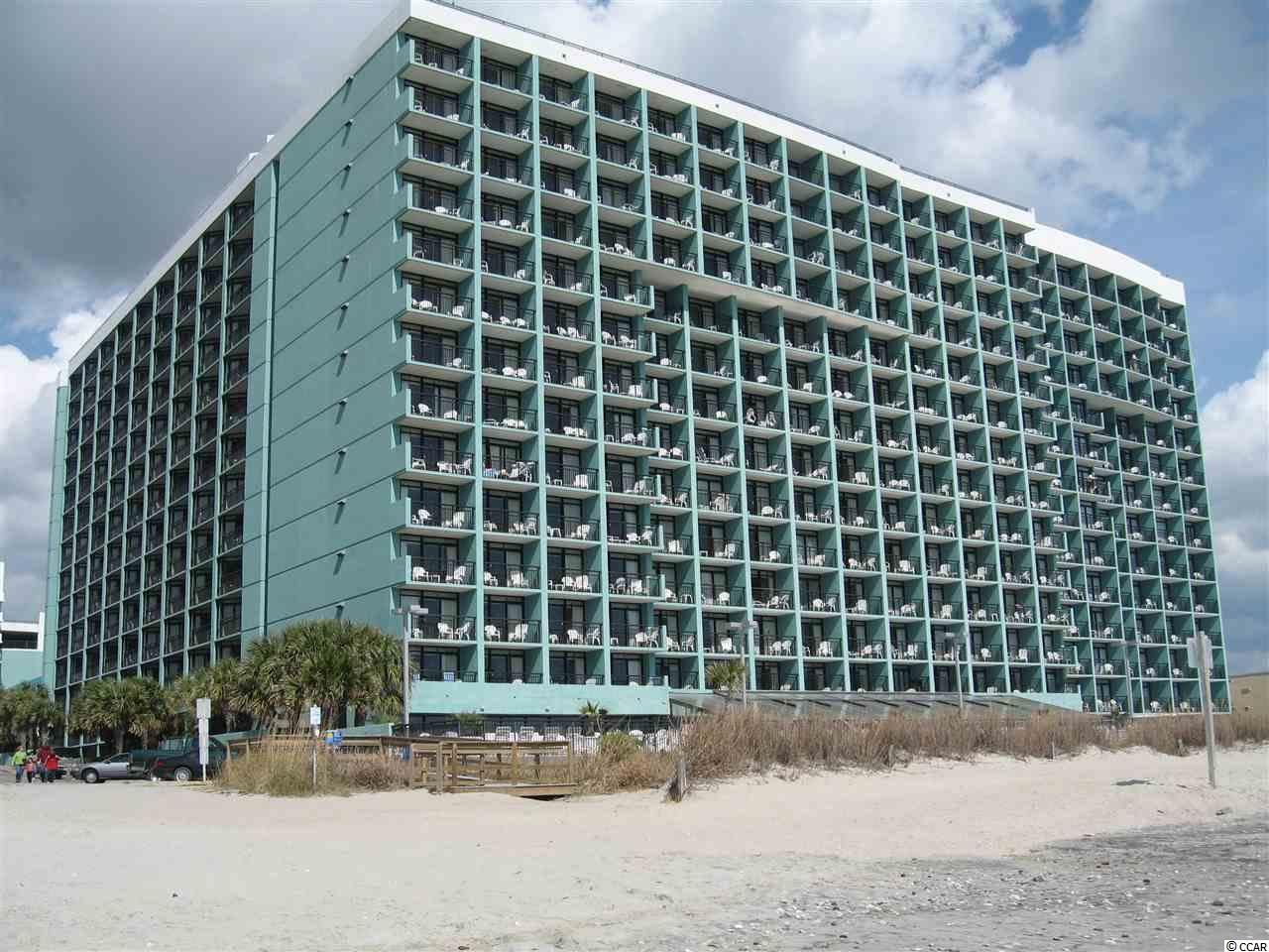 Ocean View,End Unit Condo in Landmark Resort : Myrtle Beach South Carolina