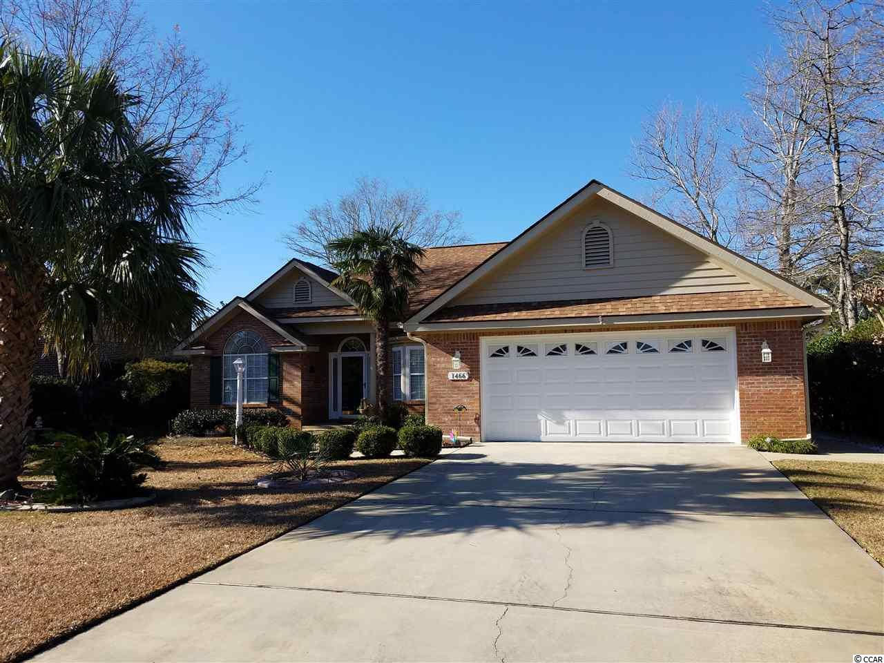 Detached MLS:1902041   1466 Fox Hollow Way North Myrtle Beach SC