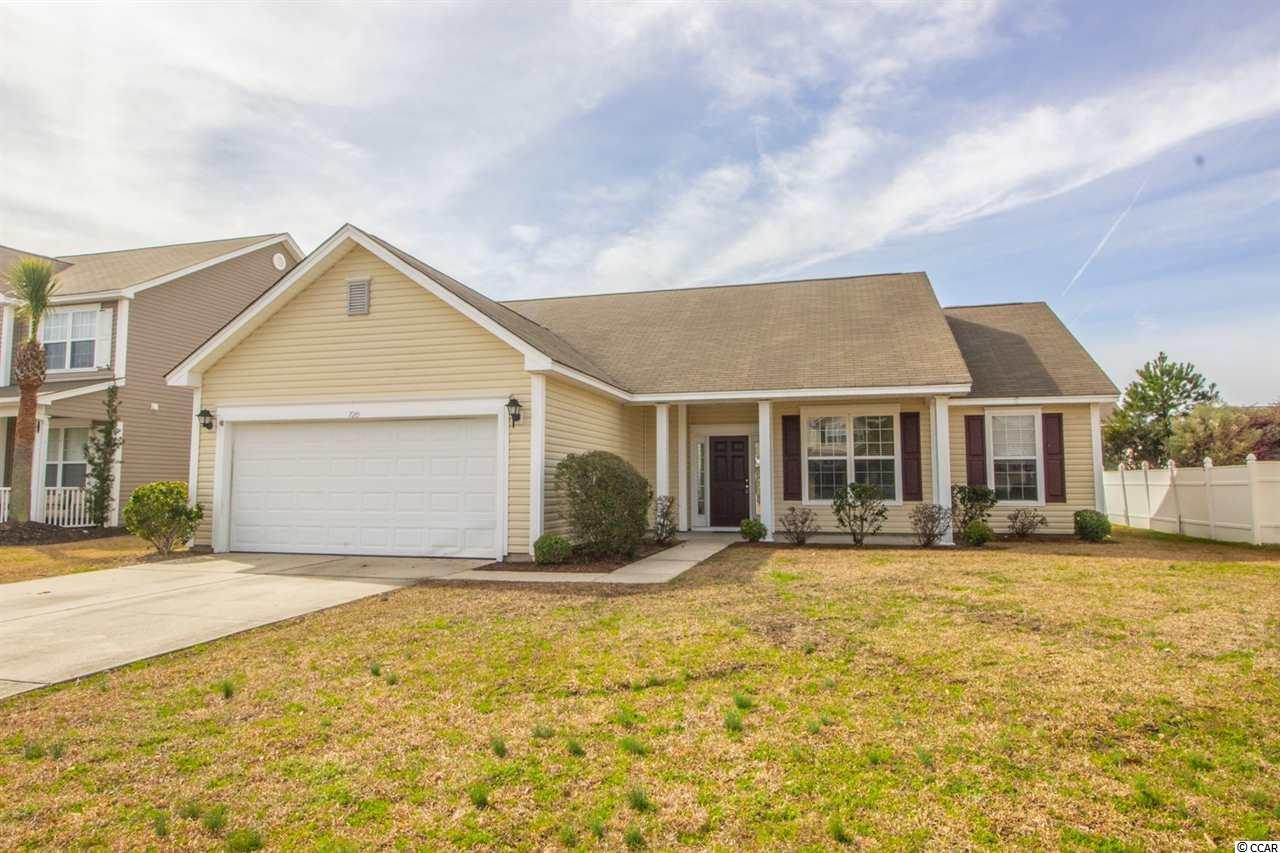Detached MLS:1904953   720 Gazania Ln. Myrtle Beach SC